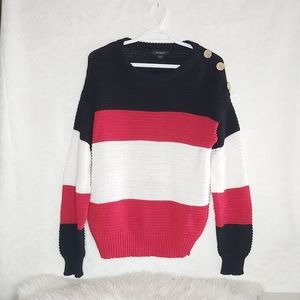 2 for $15 Trendsetter Knit Oversized Sweater
